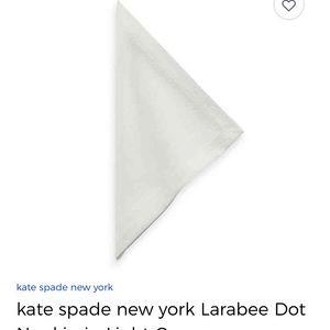 Kate Spade ♠️ NY Larabee dot  Napkin set of 12